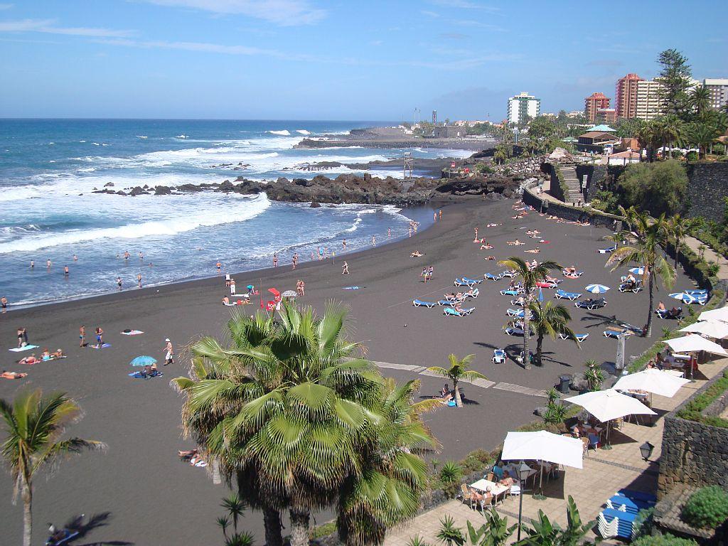 Playa de la arena for Jardines tenerife